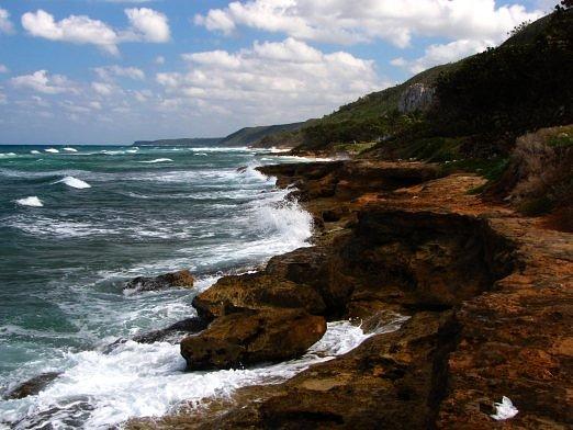 shore a long walk past Breeze resort