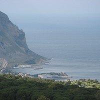 Monte Pellegrino - looking west
