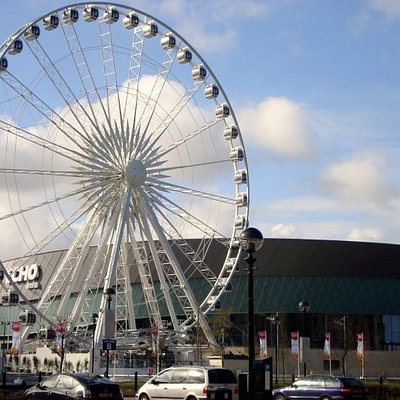 The big wheel and Arena.