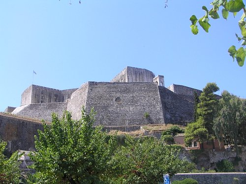 new fortress from outside