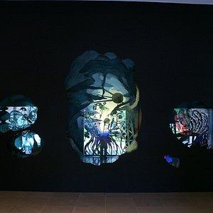"Rice Gallery's ""installation""-style exhibit"