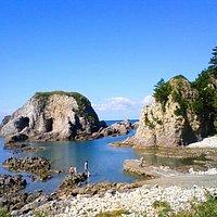 森山海岸 象岩