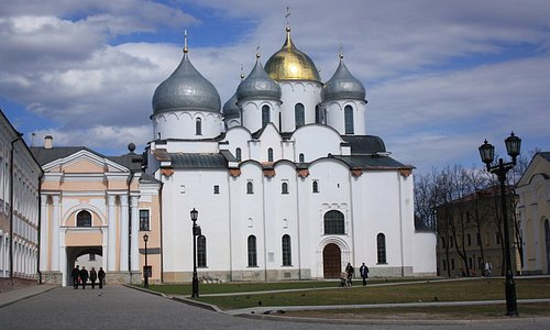 Saint Sofia Cathedral in the Novgorod Kremlin