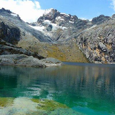 Nevado y laguna Churup - Huaraz