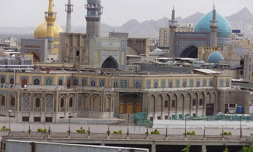 Imam Raza Shrine - by day