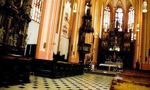 St.Maurice Church interior.