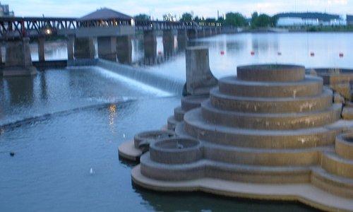 Dam area