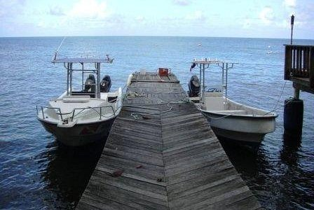 Specially made dive boats