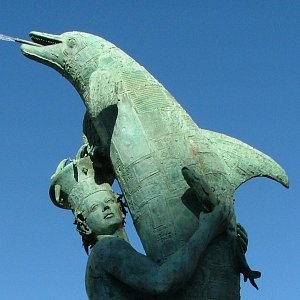 Arion and his lifesaving dolphin