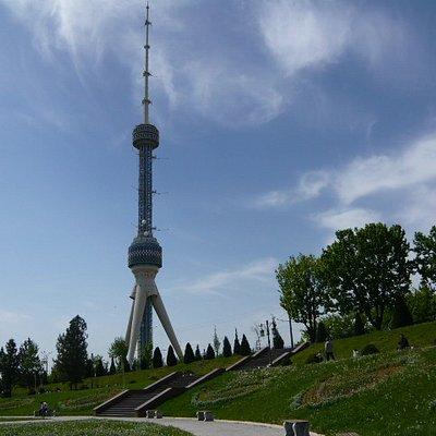 テレビ塔の東にある公園から撮影