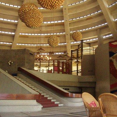 club lobby
