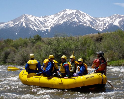 Rafting for all ages and abilities on the Arkansas River