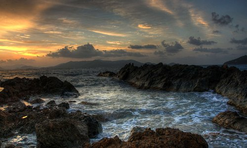 Prettyklip Point at sunrise