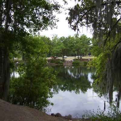 Lake near the Hwy 60 entrance