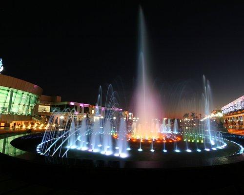 Soho's Dancing Fountain