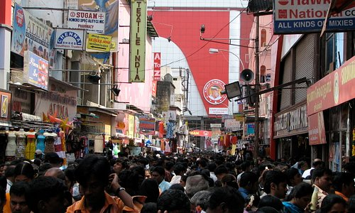 T. Nagar at its busiest during festival season