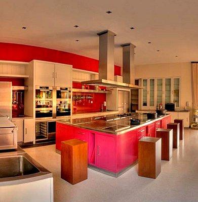 Workshop kitchen at Mozaic