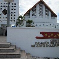 The Center entrance