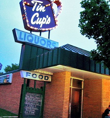 Tin Cups in St Paul, MN - reopened 2010