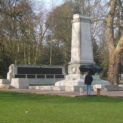 War Memorial Christchurch Park
