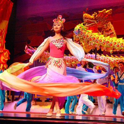 Acrobats of China featuring the New Shanghai Circus in Branson MO