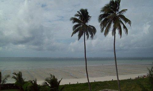 Nyali Beach early in the morning