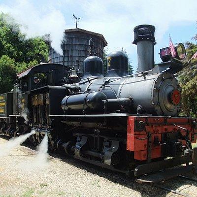 Roaring Camp locomotive