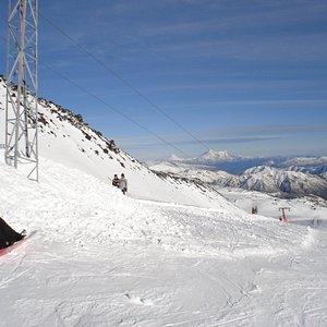 Blick auf die Anden im Skigebiet Nevados de Chillán
