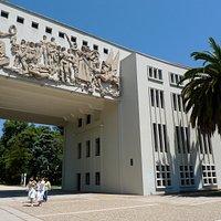 Eingang zum Campus der Universidad de Concepción