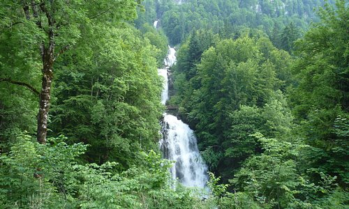 The Waterfalls (Giessbach, CH)