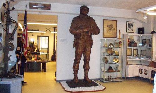 Statue of Gen. G.S. Patton