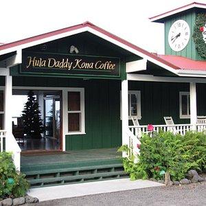 Hula Daddy Kona Coffee tasting room