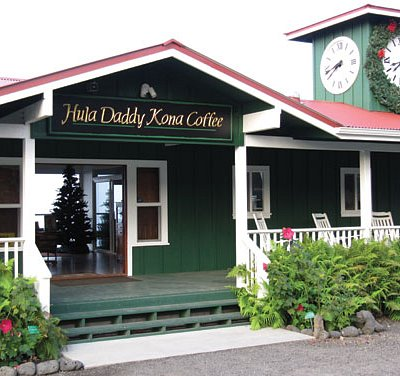 Hula Daddy Kona Coffee tasting room