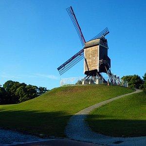 St. Janshuismolen Windmill