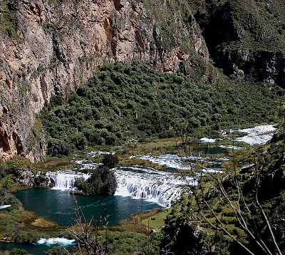 The famous landscape