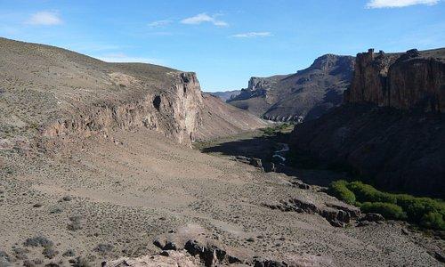ピントゥラス渓谷