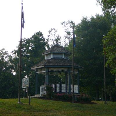 Gazebo at Patriot Park