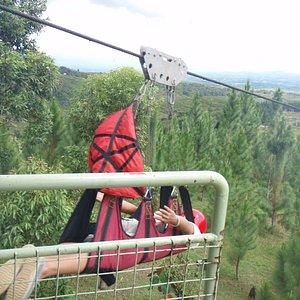 Launch pad at 840 Meters zipline