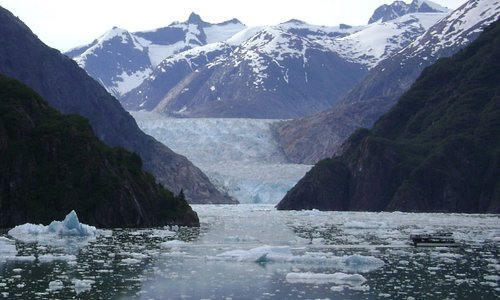 Sawyer Glacier- Tracy Arms Fjord