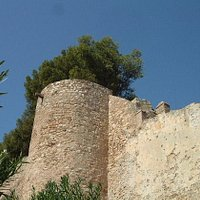 Denia Castle Walls