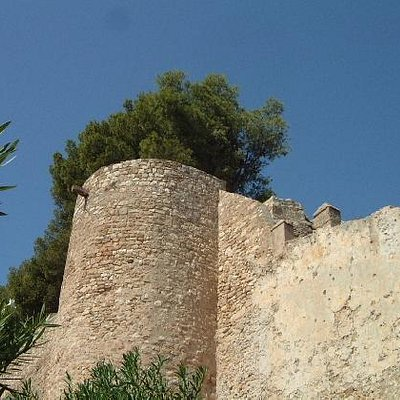 Denia Castle Walls