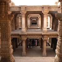 Majestic View of step well