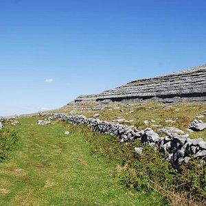 "One of the Burren ""Green Roads"""