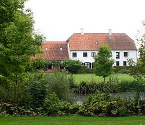 Rungstedlund--view from the park