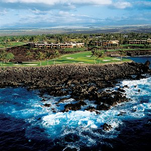Mauna Lani Point from the ocean