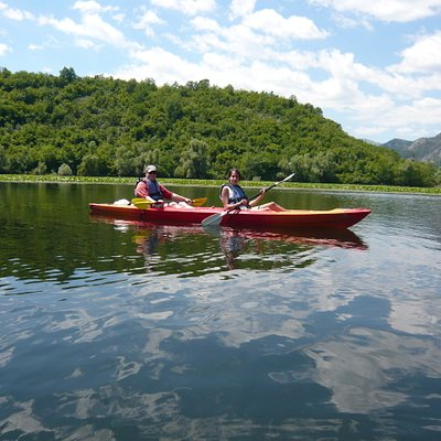 Kayaking Lake Skadar with  Kayak Montenegro