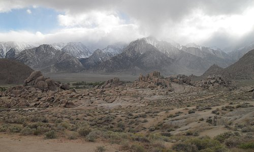 Sierra Nevada & Alabama Hills