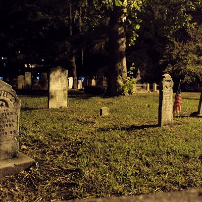 one of the cemeteries