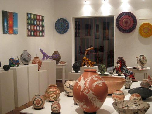 inside PAQUIME gallery