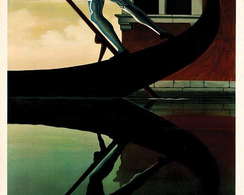 """""""Venezia,"""" A.M. Cassandre (1901-1968), color lithograph, 1956"""